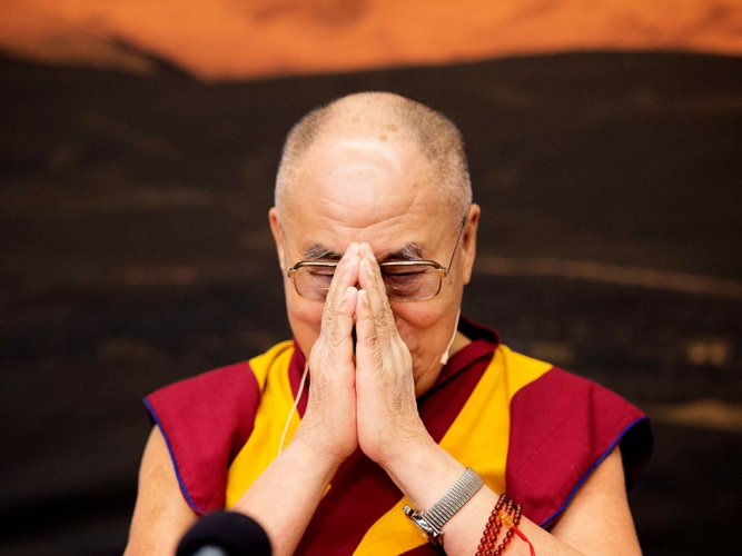 Dalai Lama, a citizen of world, undeterred by protests