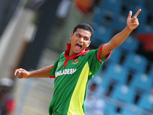 Bangladesh win toss, elect to bat