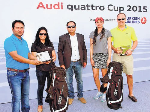 Audi quattro cup 2015 held