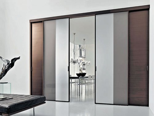 New-age doors with no frames