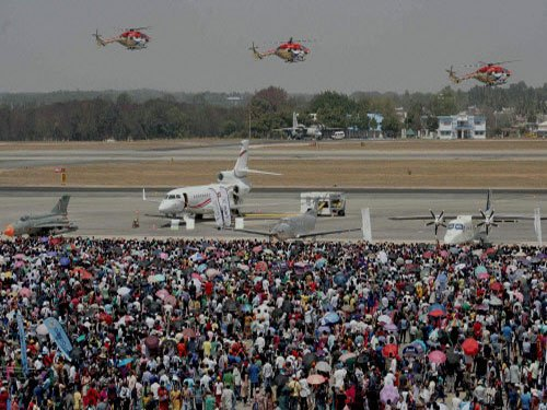 Aero India concludes, no mega deal signed