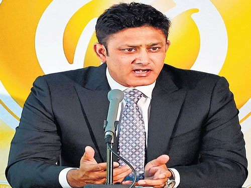 Kumble inducted into ICC Hall of Fame