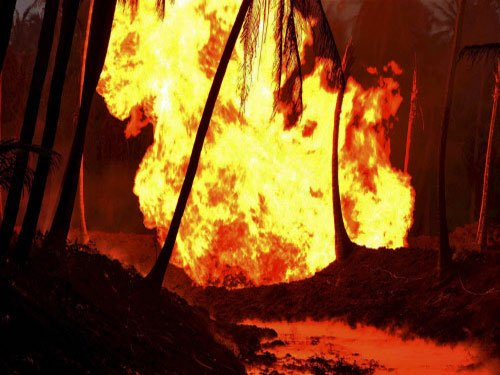 Fire breaks out in RIL gas pipeline in T'gana; no one injured