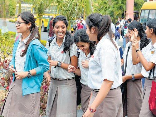 CBSE exams begin on easy note