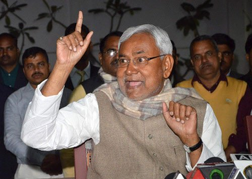Nitish annuls 36 decisions taken by Manjhi