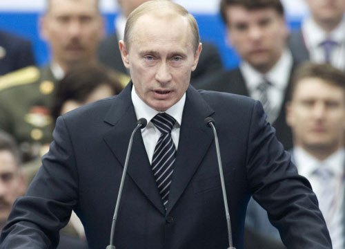 Putin takes 10 per cent salary cut in crisis-hit Russia