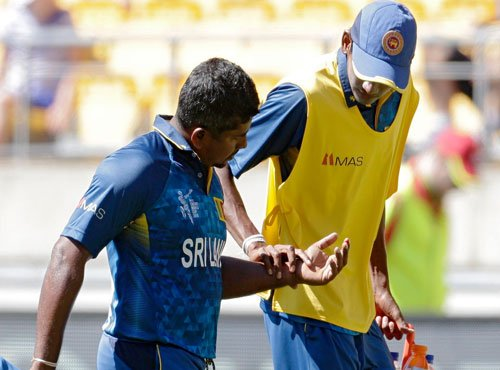 Dual injury blow for Sri Lanka ahead of Australia clash