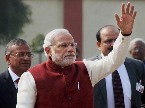 PM Modi arrives in Lanka as final stop of his 3-nation tour