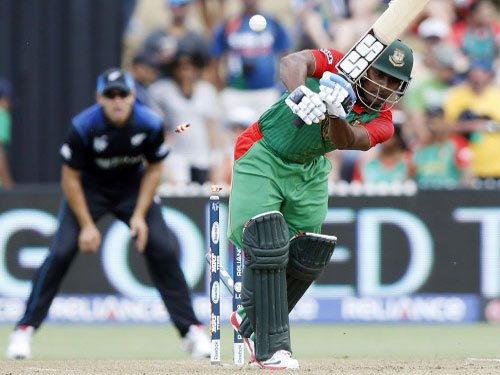 Bangladesh post 288-7 against New Zealand in World Cup