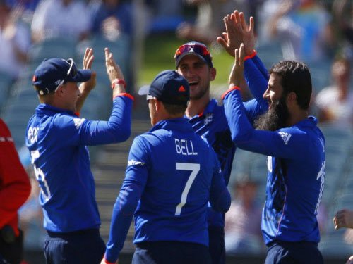 England win toss, elect to bowl against Afghanistan