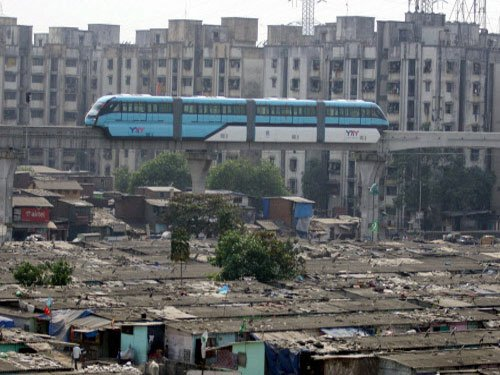 Mumbai monorail srvc disrupted; 11 stranded passengers rescued