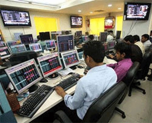 Sensex hits over 1-month low, Nifty dips below 8,600