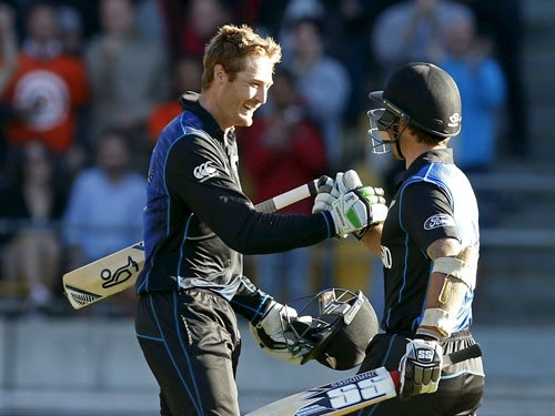 New Zealand score 393 for six against West Indies