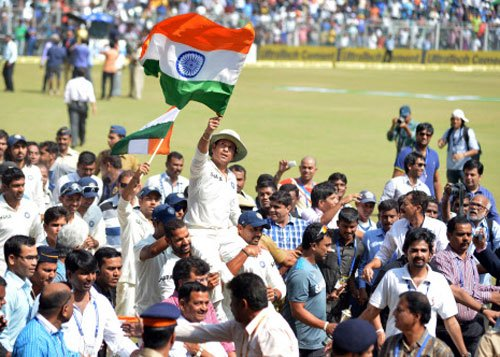 Sachin's farewell Test jersey fetches Rs 6 lakhs