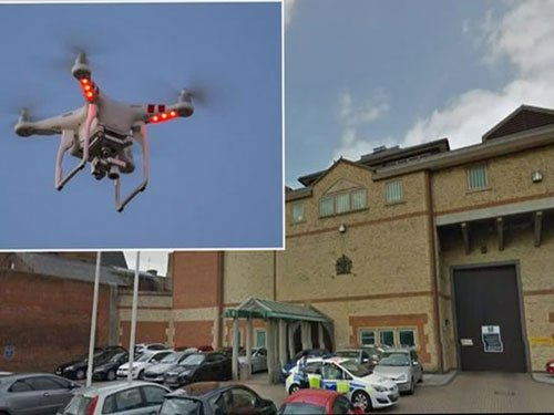 Plot to smuggle drugs, weapons into UK prison by drone fails