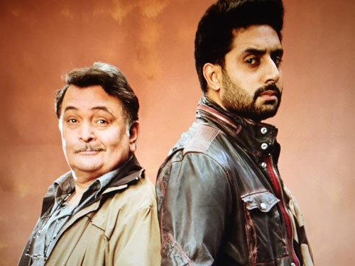 Rishi Kapoor shares picture with Abhishek from 'All Is Well'