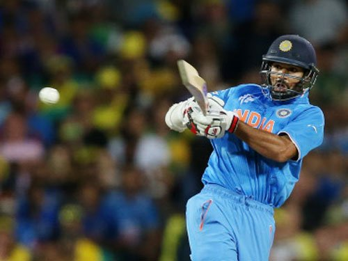 Chasing mammoth Aussie score, India lose quick wickets