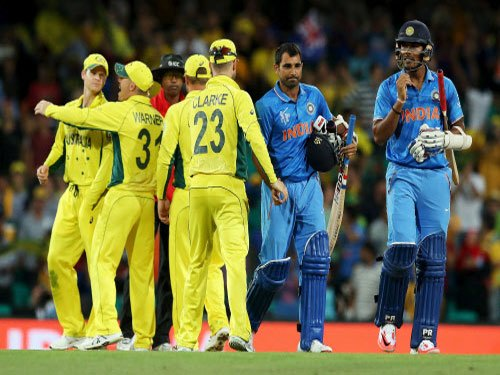 Cricketing fraternity commend India despite defeat