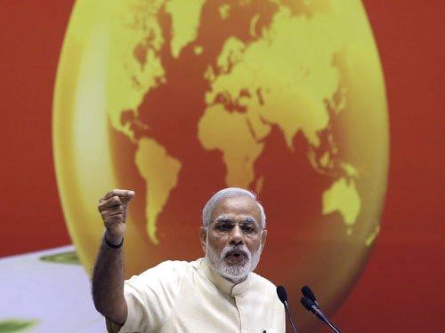 Modi, Satyarthi among world's greatest leaders:Fortune