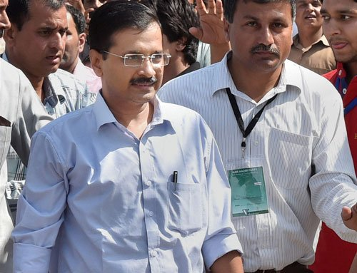 When whole Delhi was with us, some friends backstabbed: Kejriwal