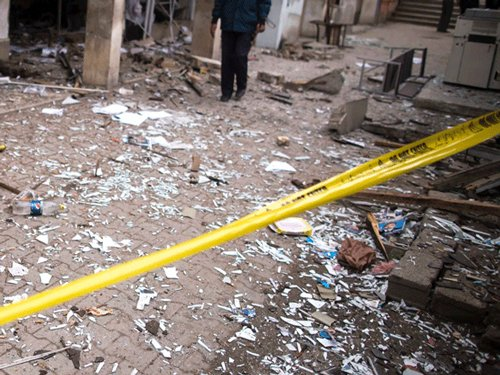Bomb explodes in flat, no casualty