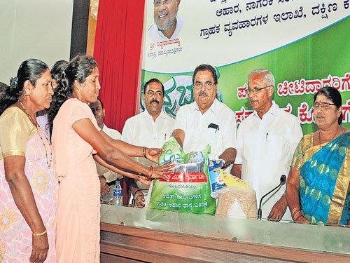 'Anna Bhagya' empowers weaker section, says Rai
