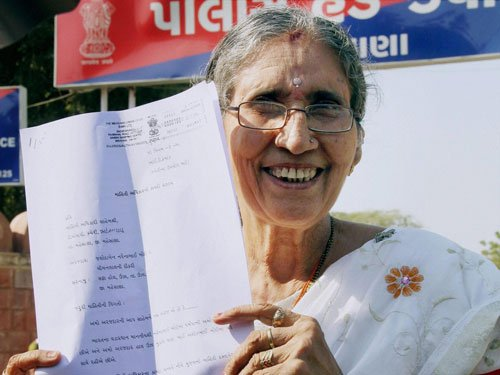 Jashodaben files second RTI appeal