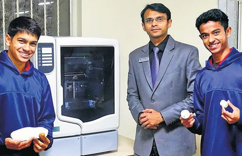 Ooty school becomes first to install 3D printer