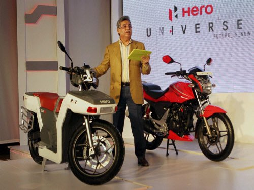 Hero MotoCorp Q4 Net declines 14% at Rs 477 cr