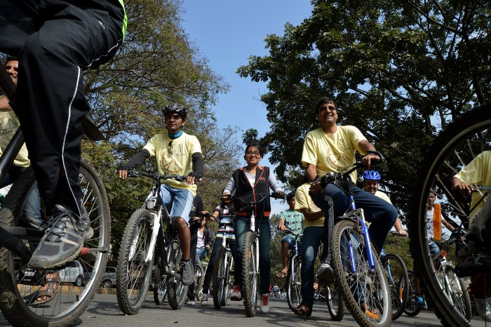 5.5 lakh bicycles for 8th standard students