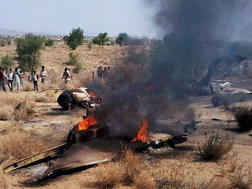 MiG-27 crashes in Bengal, 2 civilians die, pilot ejects safely