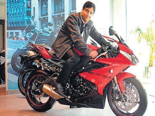 Triumph revises India strategy