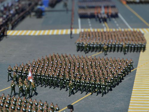 Russia displays military might in WWII 'Victory Day' parade