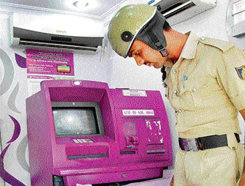 Woman robbed  in City ATM kiosk
