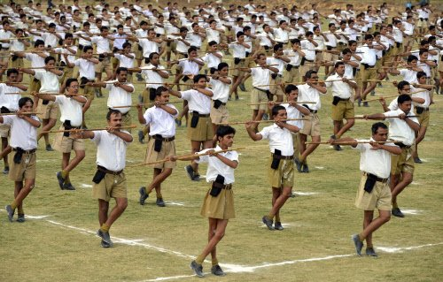 RSS questions US defence of Ford Foundation, Greepeace