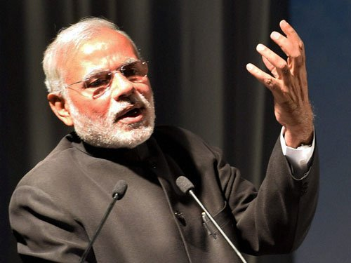 Land law during UPA regime adopted in a hurry: Modi