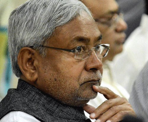 Five lakh will die if Patna quake epicentre: Nitish