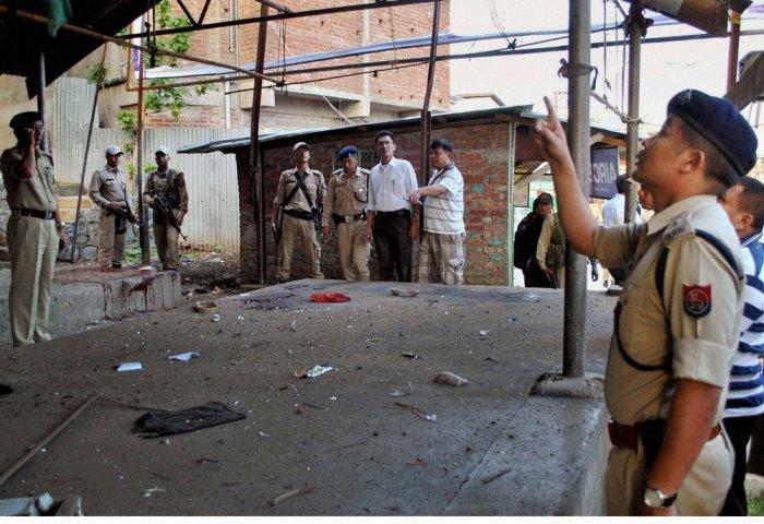 Explosion in Himachal BJP spokesman's residence, 4 injured