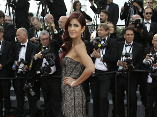 Katrina Kaif makes stunning red carpet debut at Cannes 2015