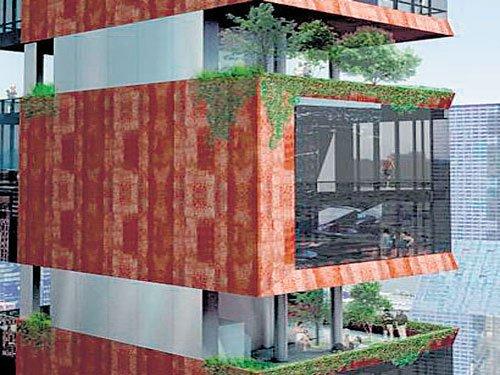 Full-floor sky gardens invade Manhattan