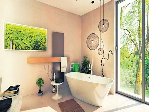 Green touch for your walls