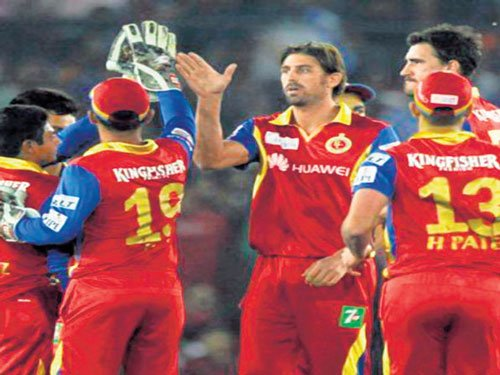 History against RCB in Hyderabad