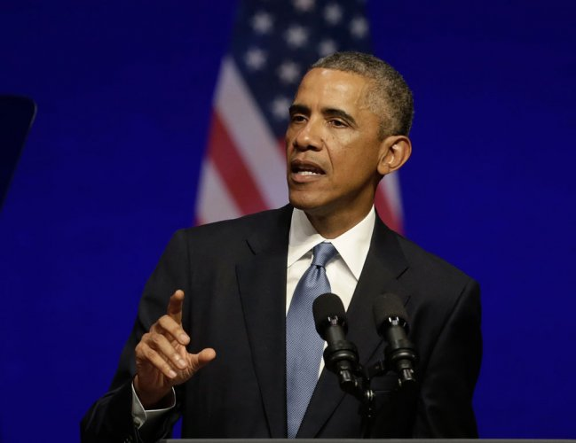 Two-state solution 'vital' for Israel's security: Obama