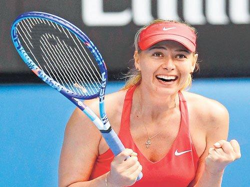 Sharapova regains second spot in world rankings