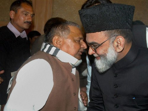 Shahi Imam warns SP against not fulfilling promises to Muslims