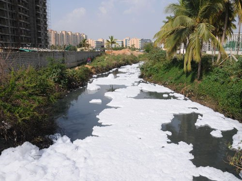 Bellandur lake fire: Red tape delays action on officials