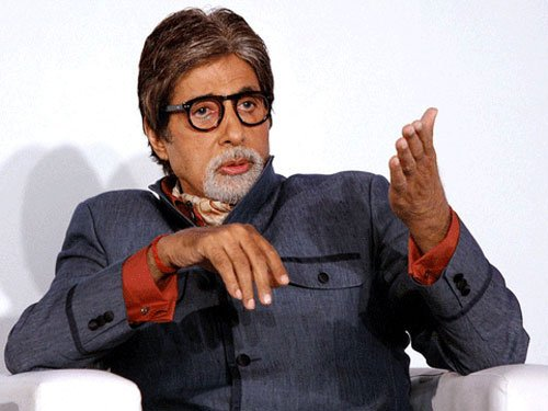 Big B sweating it out for new film