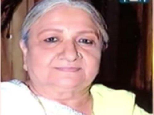 Baa of famous Saas-Bahu serial dead