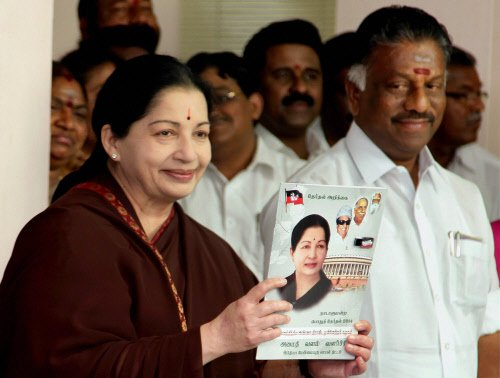 TN ministers on thanksgiving spree