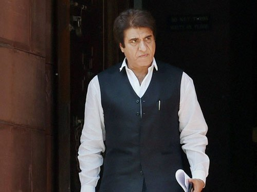 Modi running a government of 'suit, boot and loot': Raj Babbar